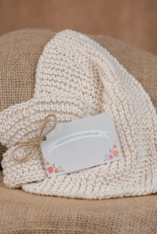 Handcrafted Cotton Dishcloths - Natural